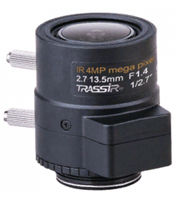 Вариофокальный 4 Мп объектив TR-TRASSIR L4M2.7D2.7-13.5IR - фото 14404