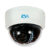 """Купольная камера 1/4"""" RVi HDC311-AT (2.8-12 мм) - фото 14667"""