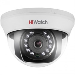 Купольная HD-TVI камера HiWatch DS-T101 - фото 4503