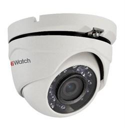 Уличная купольная HD-TVI камера HiWatch DS-T103 - фото 4504