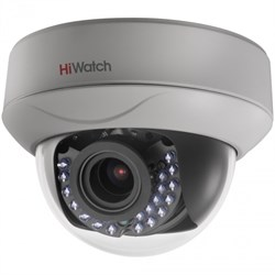 Купольная HD-TVI камера HiWatch DS-T227 - фото 4512
