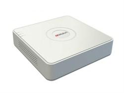 Видеорегистратор 4-х канальный гибридный HiWatch DS-H104Q - фото 4519