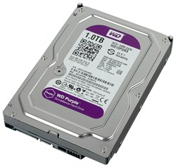 Жесткий диск Western Digital Purple, WD10PURX 1ТБ - фото 4649