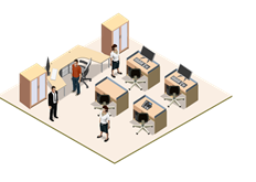 Профессиональное решение IP видеонаблюдения для офиса - фото 4687