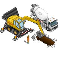 Профессиональное решение IP видеонаблюдения на стройплощадке - фото 4696