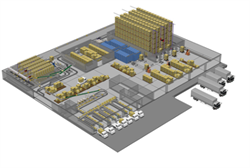 Профессиональное решение IP видеонаблюдения на складе - фото 4939