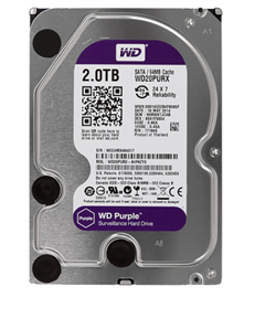 Жесткий диск Western Digital Purple, WD20PURX 2ТБ - фото 4951
