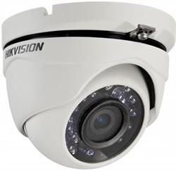 Уличная купольная HD-TVI камера HikVision DS-2CE56D0T-IRM - фото 5554