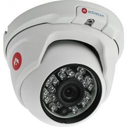Уличная купольная вандалозащищенная IP-камера ActiveCam AC-D8121IR2 2.8mm - фото 5671