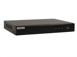 8-ми канальный гибридный Видеорегистратор HiWatch DS-H208U - фото 5720