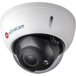 Вандалозащищенная купольная IP камера ActiveCam AC-D3123WDZIR3 - фото 6050