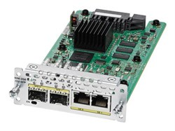 Модуль Cisco NIM-2GE-CU-SFP - фото 6748