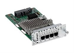 Модуль Cisco NIM-4FXS - фото 6754