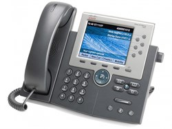 Телефон Cisco IP Phone CP-7975G - фото 7427