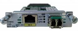 Модуль Cisco EHWIC-1GE-SFP-CU - фото 7472