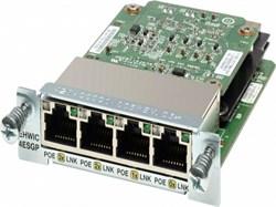 Модуль Cisco EHWIC-4ESG-P= - фото 7473