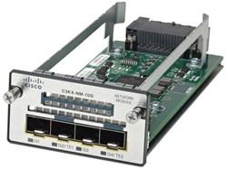 Модуль Cisco C3KX-NM-10GT - фото 7523