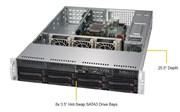 2U Сервер видеонаблюдения MVP XR25i12Uv