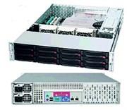 2U Сервер видеонаблюдения MVP XR15i22Uv