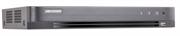 4-ми канальный гибридный HD-TVI видеорегистратор для  аналоговых Hikvision DS-7204HUHI-K1