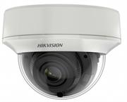 Купольная HD-TVI камера Hikvision DS-2CE56H8T-AITZF