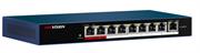 Коммутатор HikVision PoE DS-3E0109P-E/M
