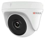 Внутренняя купольная HD-TVI камера HiWatch DS-T133
