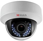 Внутренняя купольная HD-TVI камера HiWatch DS-T107 (2.8-12 mm)