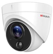Уличная купольная HD-TVI камера HiWatch DS-T213