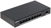 8 портовый РоЕ коммутатор Dahua PFS3009-8ET-96