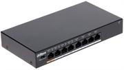 8 портовый РоЕ коммутатор Dahua PFS3008-8ET-60