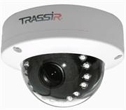 Купольная вандалозащищенная 1.3Мп IP-камера TRASSIR TR-D3111IR1 2.8mm