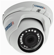 Вандалозащищенная купольная 1.3Мп IP-камера TRASSIR TR-D8111IR2 2.8