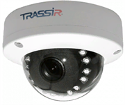 Купольная вандалозащищенная 4Мп IP-камера TRASSIR TR-D3141IR1