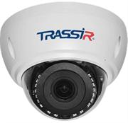 Купольная 2Мп вандалозащищенная IP-камера TRASSIR TR-D3122WDZIR2