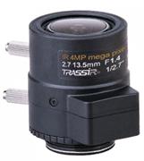 Вариофокальный 4 Мп объектив TR-TRASSIR L4M2.7D2.7-13.5IR
