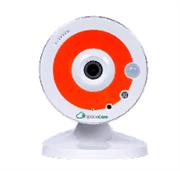"""Фиксированная малогабаритная IP-камера 1/3"""" Space Cam F1 Orange"""