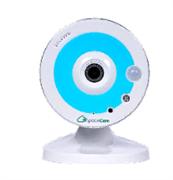 """Фиксированная малогабаритная IP-камера 1/3"""" SpaceCam F1 Blue"""