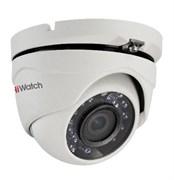 Уличная купольная HD-TVI камера HiWatch DS-T103