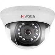Купольная HD-TVI камера HiWatch DS-T201