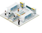 Профессиональное IP решение видеонаблюдения для магазина