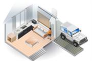 Професиональное беcпроводное IP решение видеонаблюдения для дома