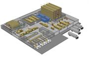 Профессиональное решение IP видеонаблюдения на складе