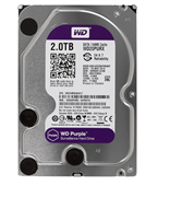 Жесткий диск Western Digital Purple, WD20PURX 2ТБ