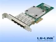 Сетевая карта LR-LINK LREC9714HF-4SFP