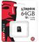Карта памяти TransFlash 64Gb MicroSDHC Class 10 - фото 4941